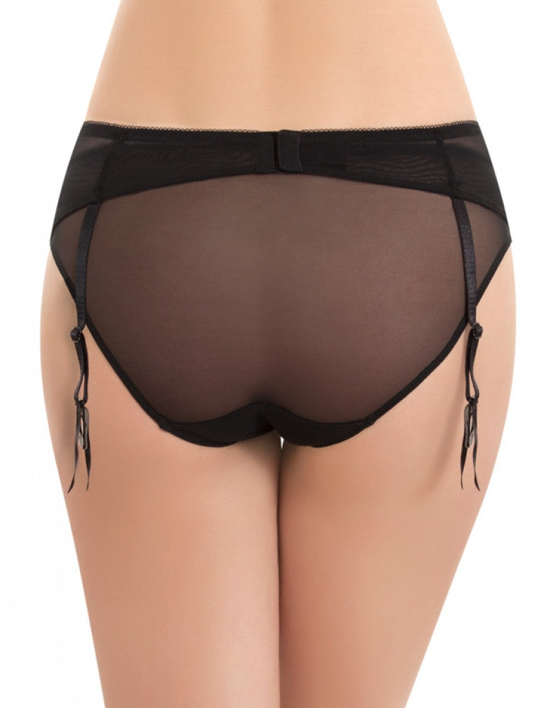 Night/Peach Beige Back b.tempt'd by Wacoal B.Sultry Garter Belt