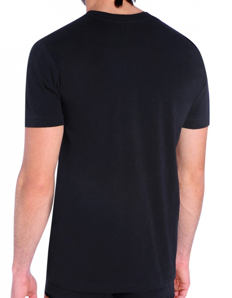 Black Back Diesel Jake Cotton Crew Neck T-Shirt