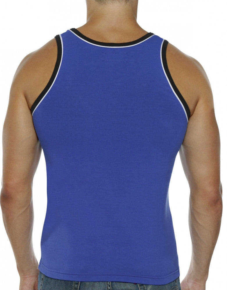 Royal Back Go Softwear Hard Core Edge Muscle Tank