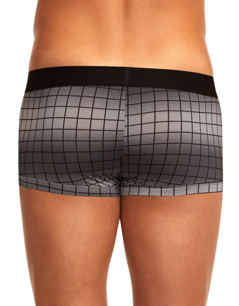 Grey/Black Back Papi 2-Pack Microflex Brazilian Trunks