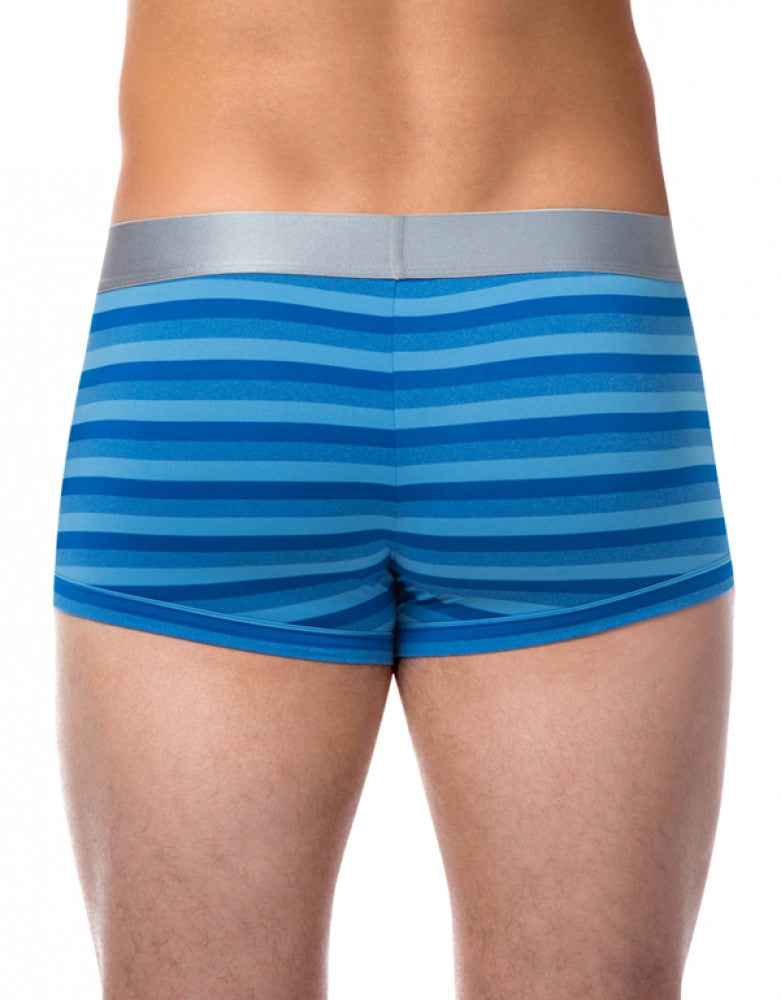 Blue Back Papi Platinum Stripe Trunk