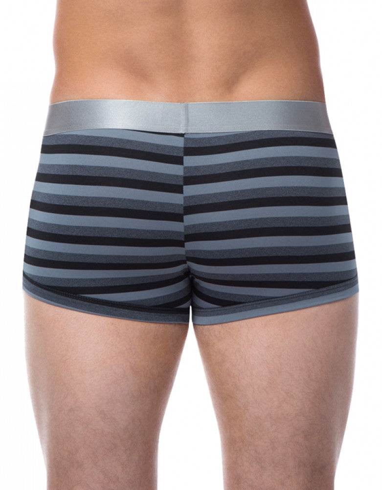 Black Back Papi Platinum Stripe Trunk