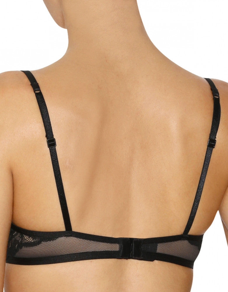 Black Back Calvin Klein Surreal Demi Bra