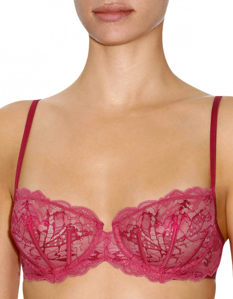 Rose/Apple Front Calvin Klein Surreal Demi Bra