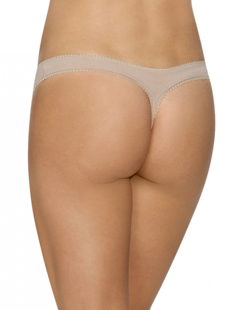 Champagne Back Cabana Cotton Hip Thong