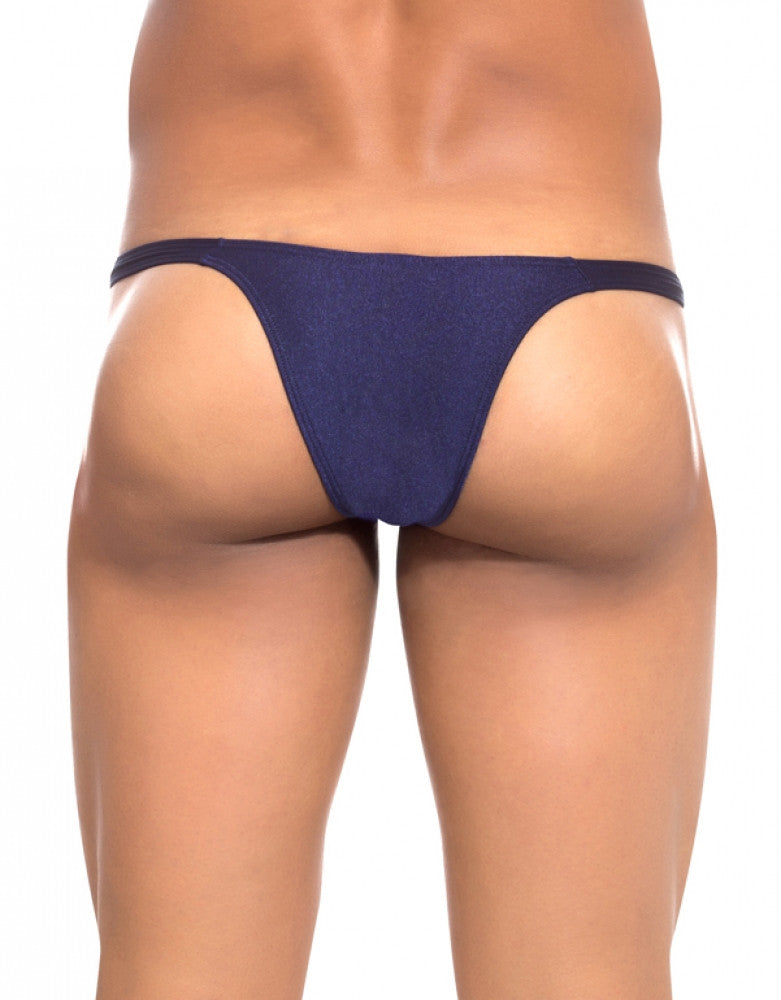Navy Back Joe Snyder Bulge Capri Bikini