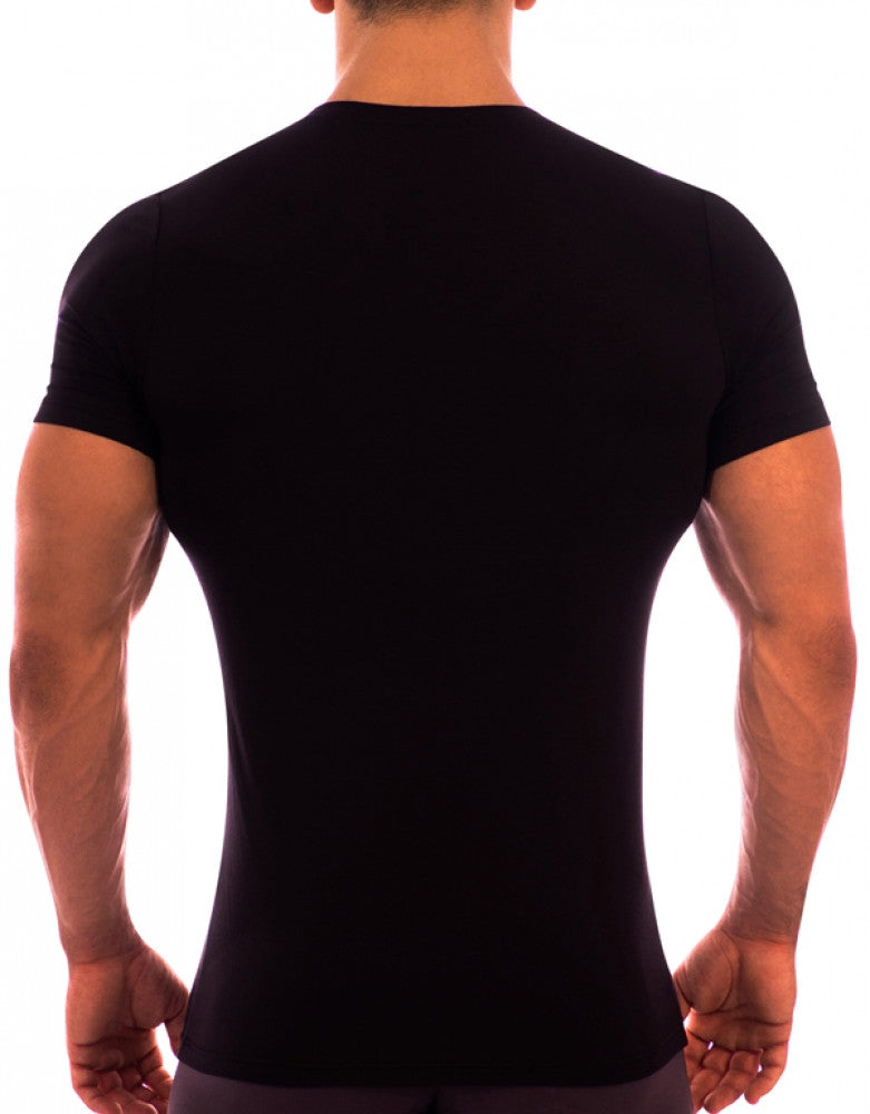 Black Back Obviously Essence Crew Neck T-Shirt