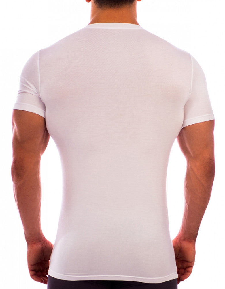 White Back Obviously Essence Crew Neck T-Shirt