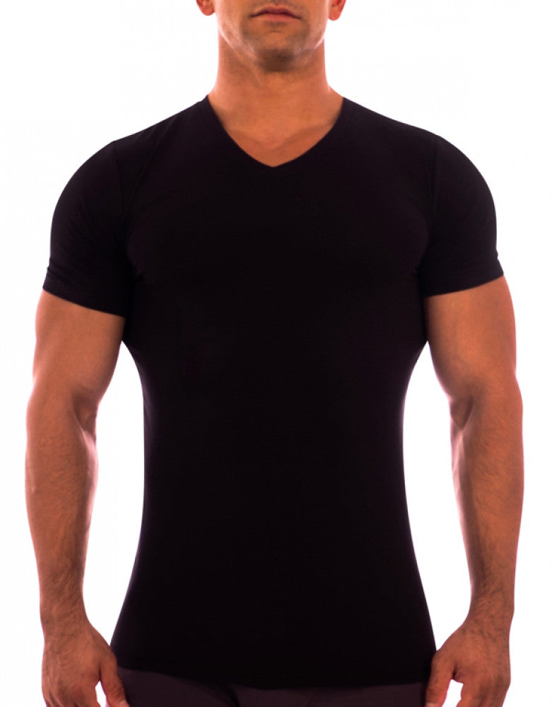 Black Front Obviously Essence V-Neck T-Shirt