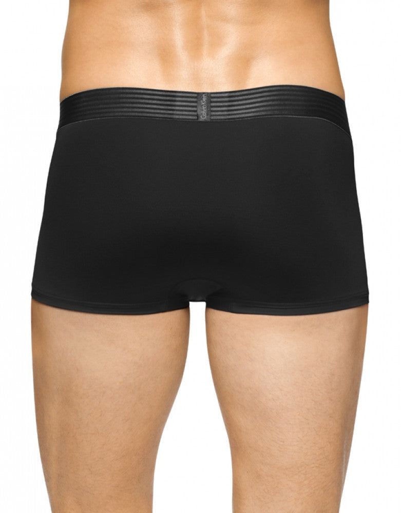 Black Back Calvin Klein Iron Strength Micro Low Rise Trunk