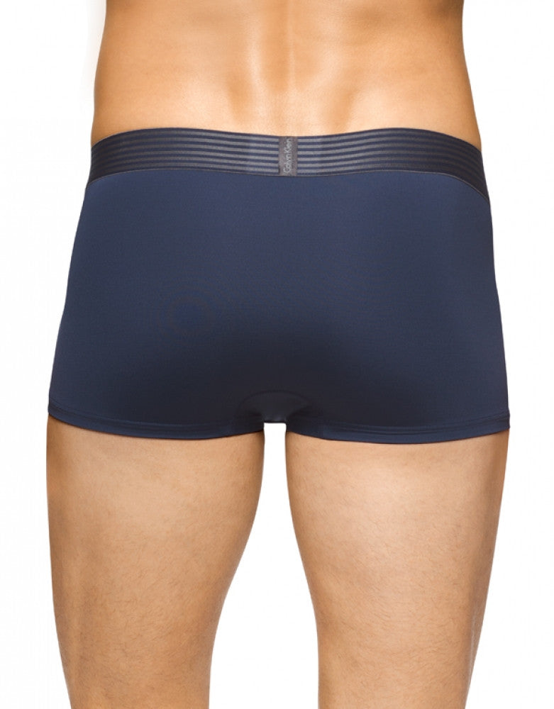 Blue Shadow Back Calvin Klein Iron Strength Micro Low Rise Trunk
