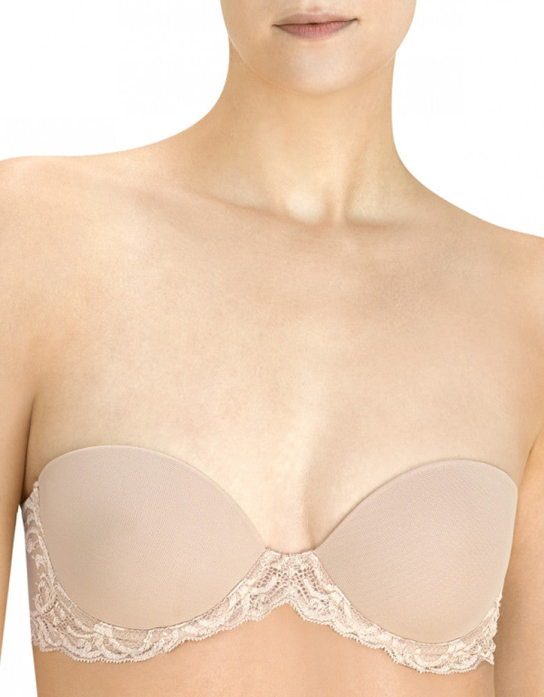 Cafe Front Natori Feathers Plunge Multiway Strapless Bra