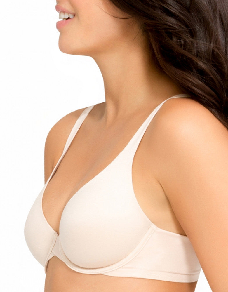 Soft Nude Side Spanx Pillow Cup Seamless Back smoothing Bra