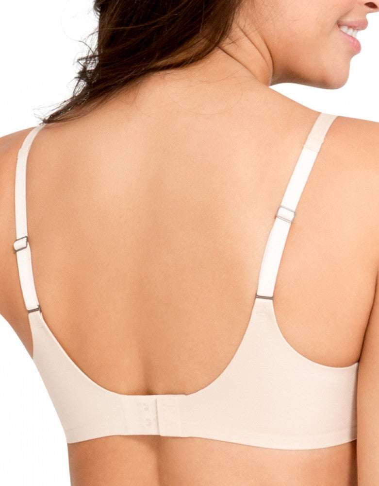 Soft Nude Back Spanx Pillow Cup Seamless Back smoothing Bra