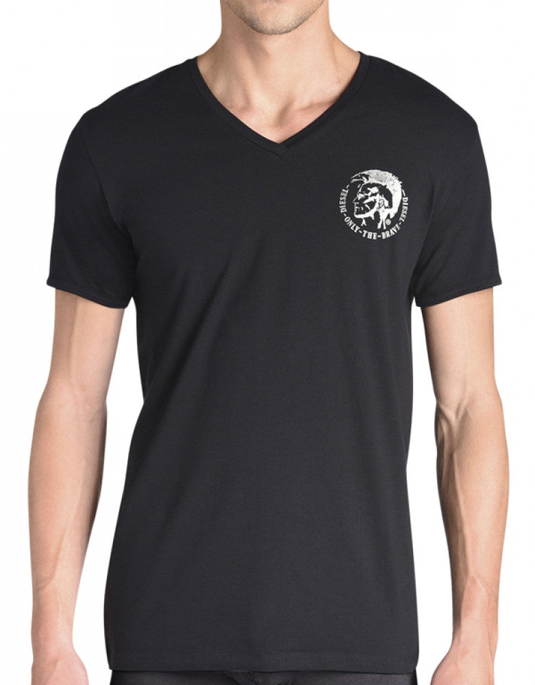 Diesel Mohican V-Neck T-Shirt - Free Shipping at Freshpair.com