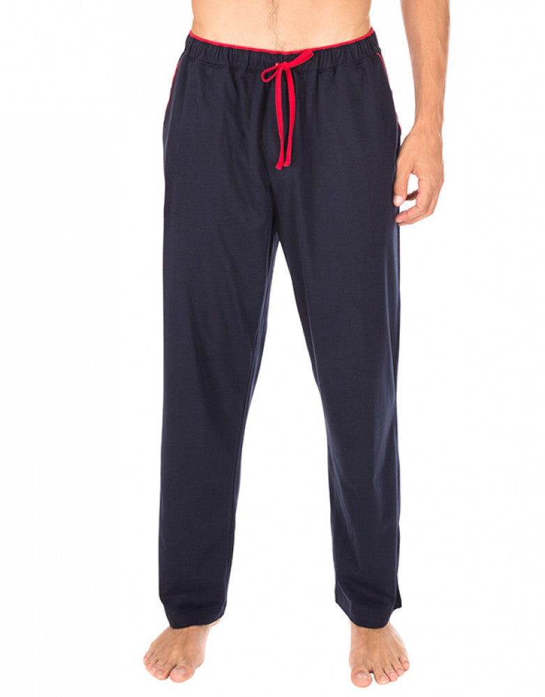 Dark Navy Front Tommy Hilfiger Knit Sleep Pant