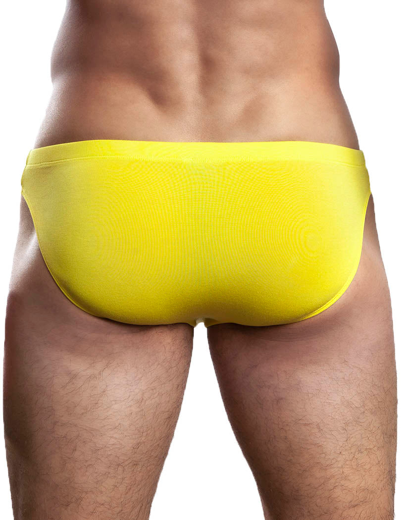 yellow back Jack Adams Men's Low Rise Modal Bikini Brief 401-249
