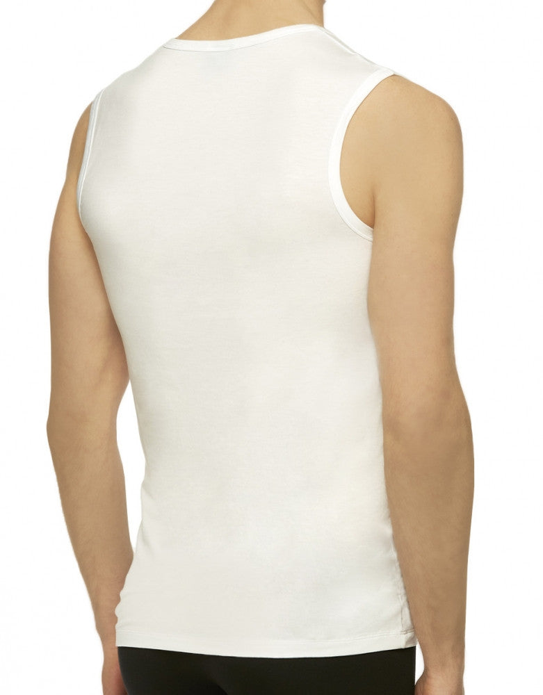 White Back Hugo Boss SeaCell Tank Top