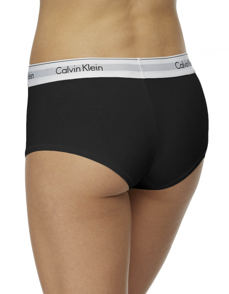 Black Back Calvin Klein Modern Cotton Short