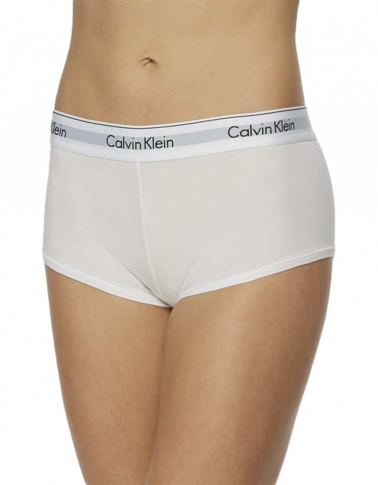 White Front Calvin Klein Modern Cotton Short