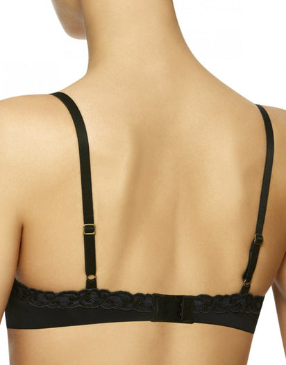Black  Natori Pure Luxe Push Up Bra