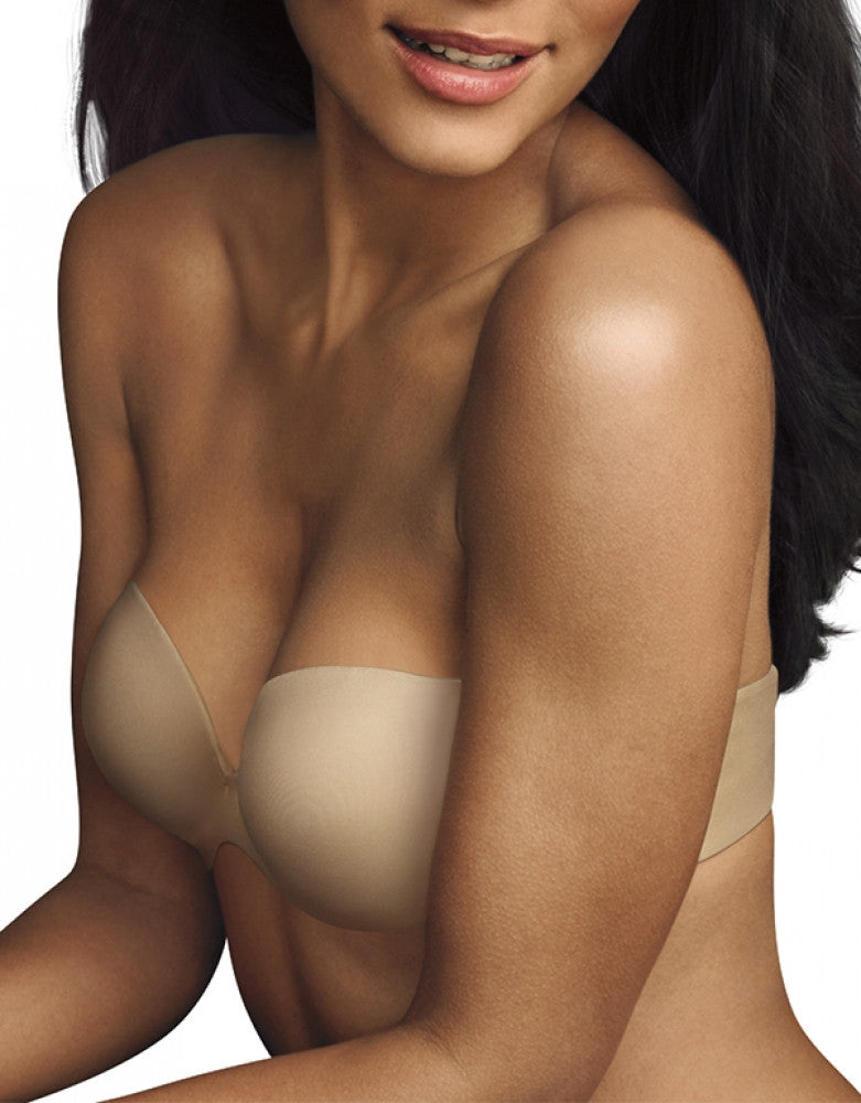 Maidenform Love the Lift Demi Strapless Multiway Bra Latte Lift 32A 014671143348