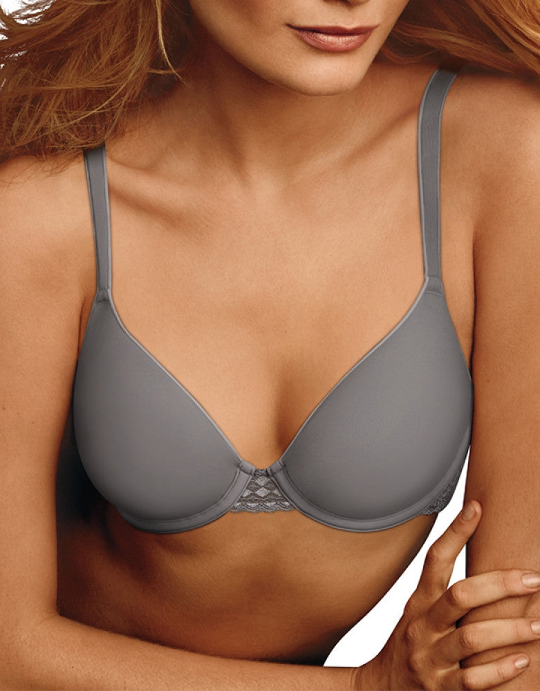 Steel Grey Front Maidenform Maidenform One Fab Fit Extra Coverage Spacer Bra