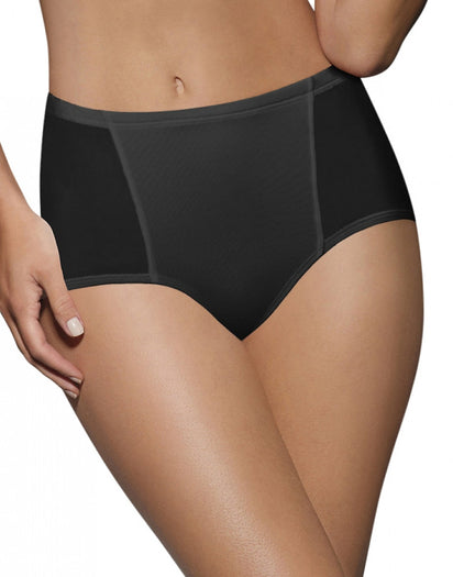 Black Front Bali One Smooth U Simply Smooth Brief