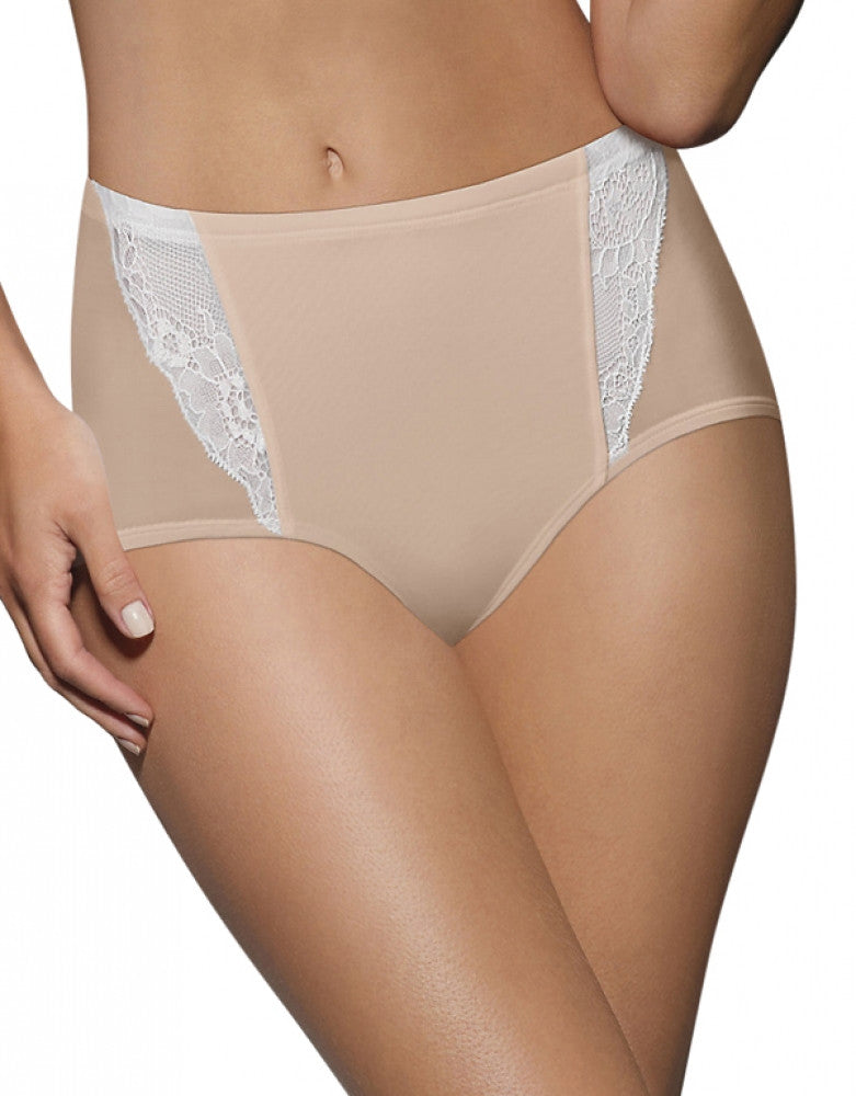Nude w/Porcelain Front Bali One Smooth U Simply Smooth Brief
