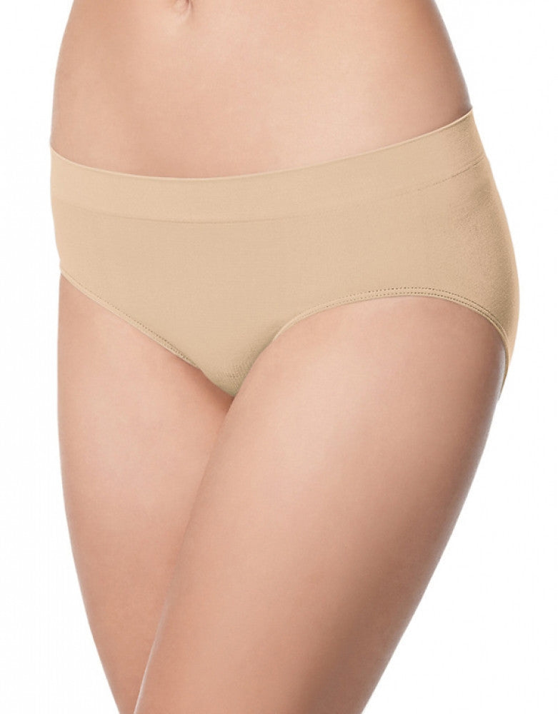 Soft Taupe Front Bali Passion for Comfort Stretch Hipster Panty