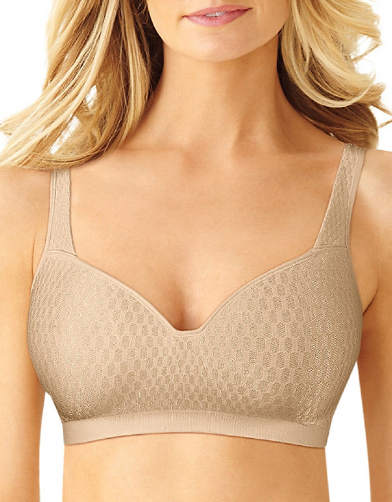 Nude Front Bali Comfort Revolution Light Lift Wirefree Bra