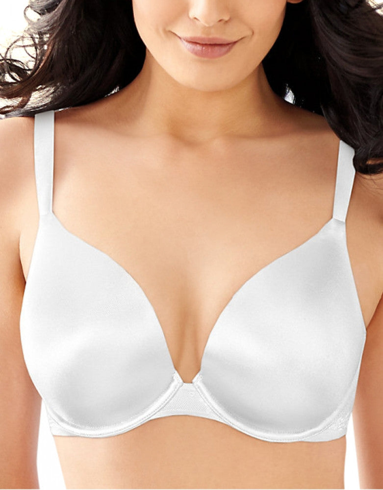 25645dd47 White Front Bali Bali Satin Desire Natural Lift Underwire Bra