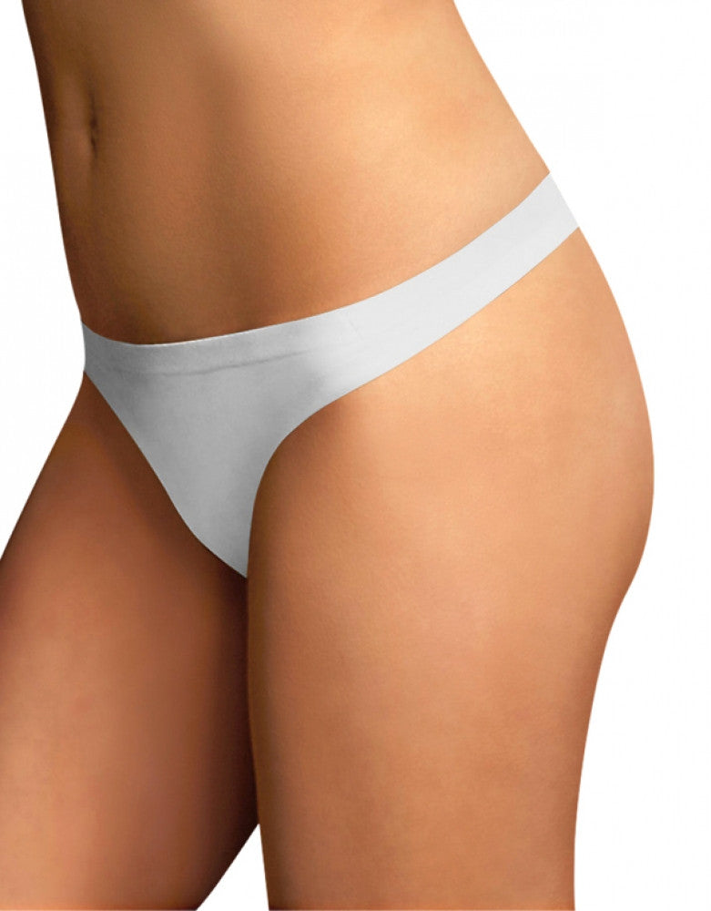 White Front Maidenform Comfort Devotion Thong