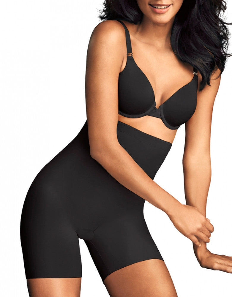 Black Front Maidenform Sleek Smoothers Thigh Slimmer