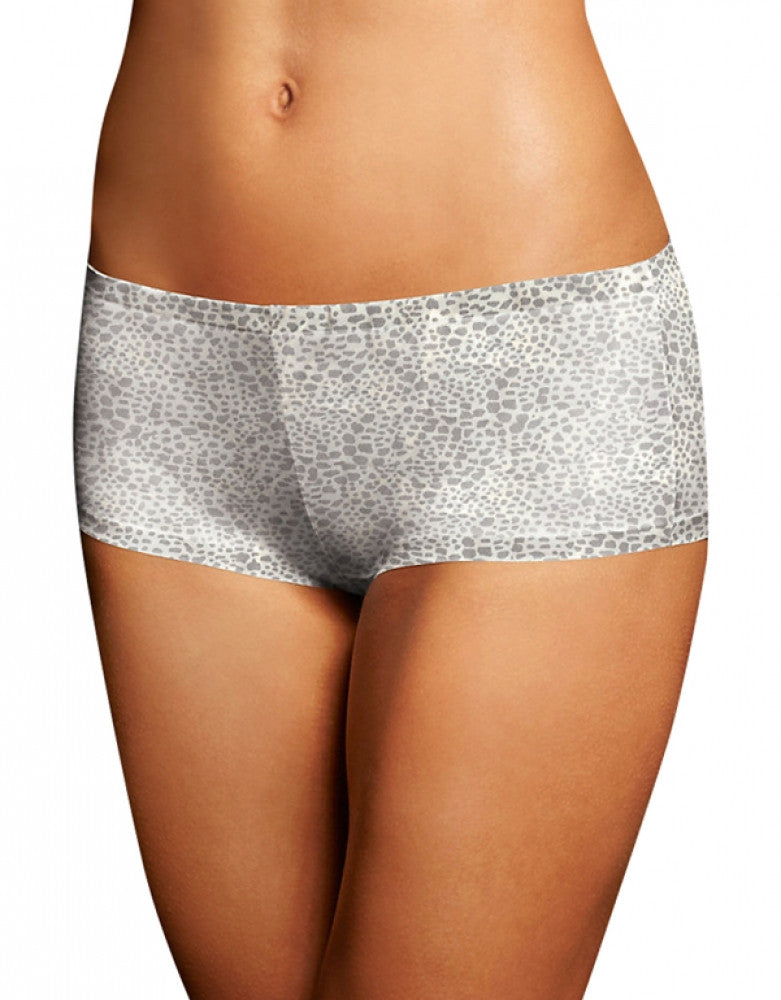 Silver Lynx Ivory Front Maidenform Comfort Devotion Tailored Boyshort