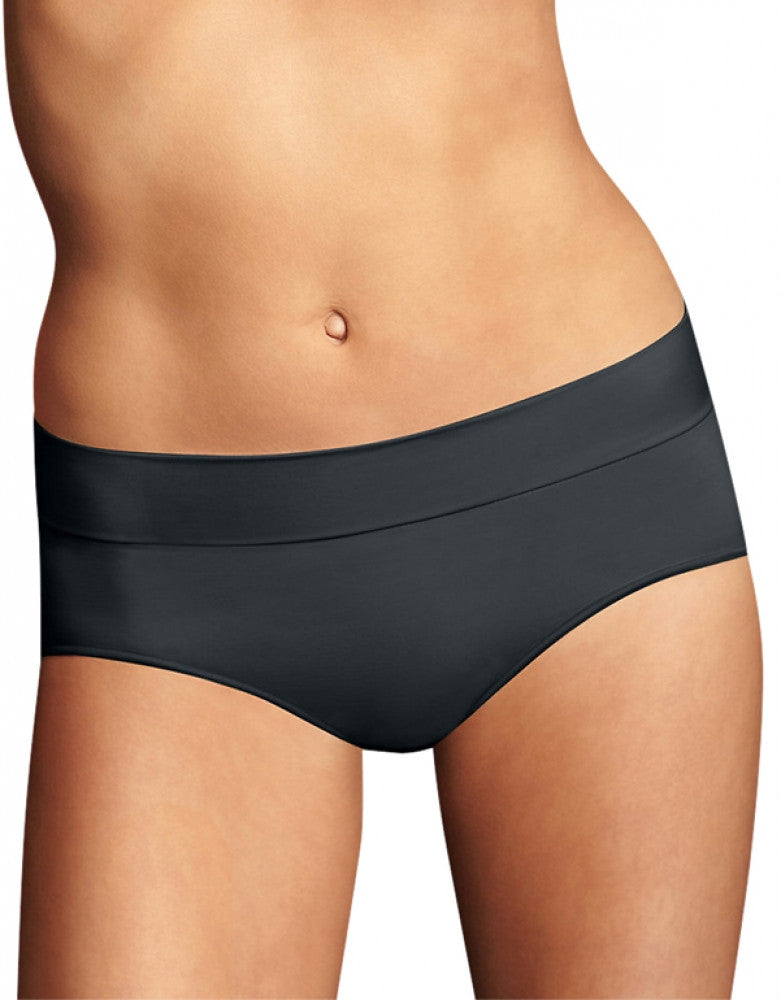 Black Front Maidenform Smooth Seamless Hipster DM0017