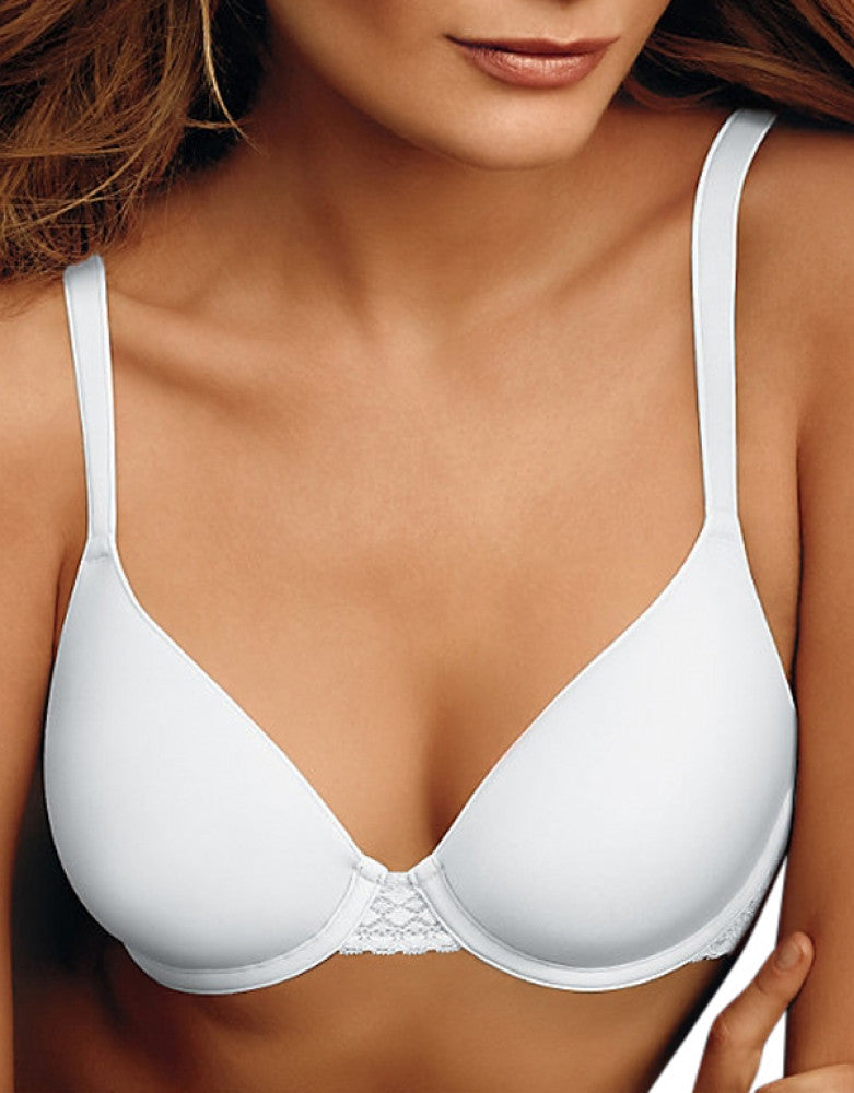 White Front Maidenform Maidenform One Fab Fit Extra Coverage Spacer Bra