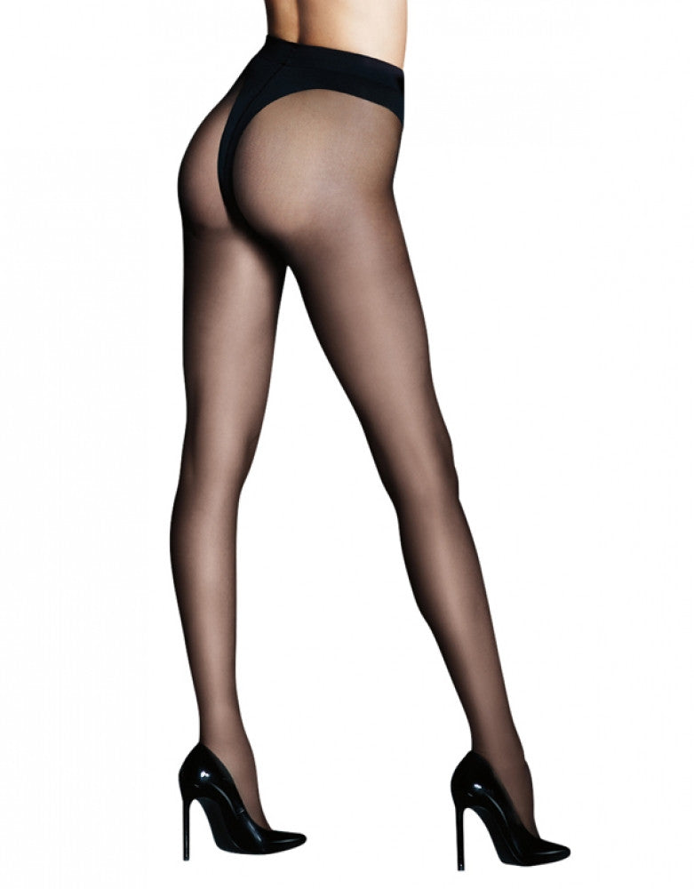 Black Front Maidenform Sexy Shaping Bottom Lifter Hosiery 0B994