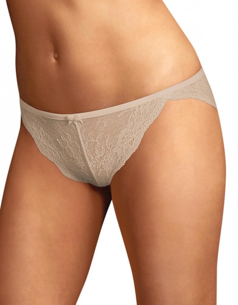Latte Lift Side Maidenform Lace Tanga Bikini DM0008