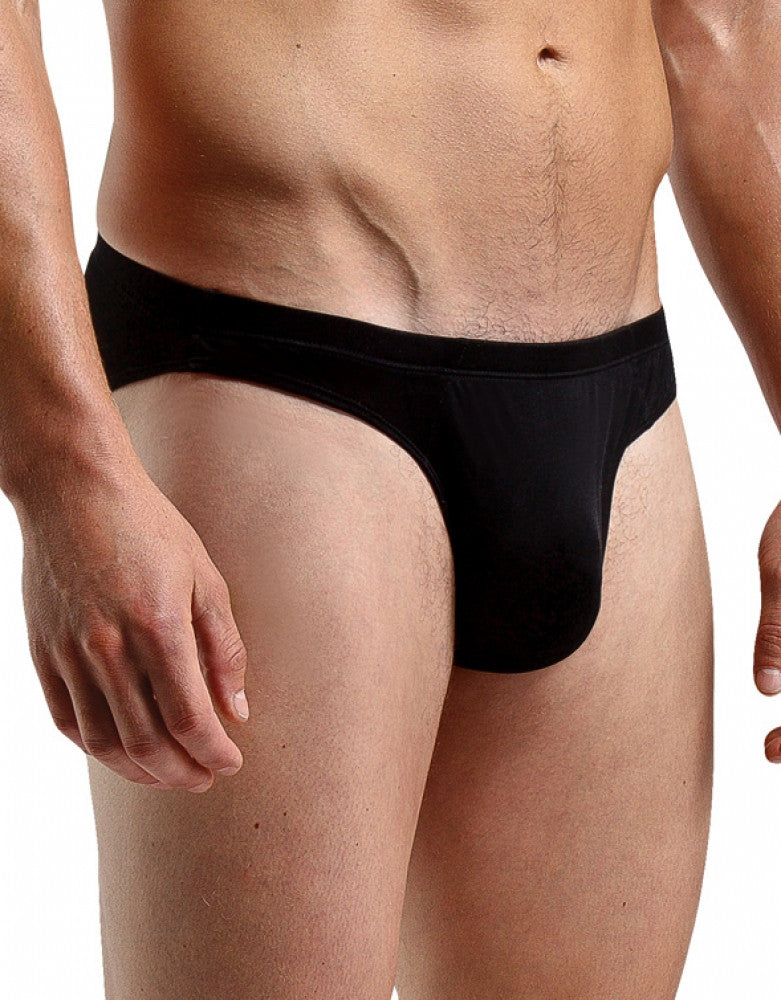 Black Front Magic Silk Men's Silk Knit Bikini 6606