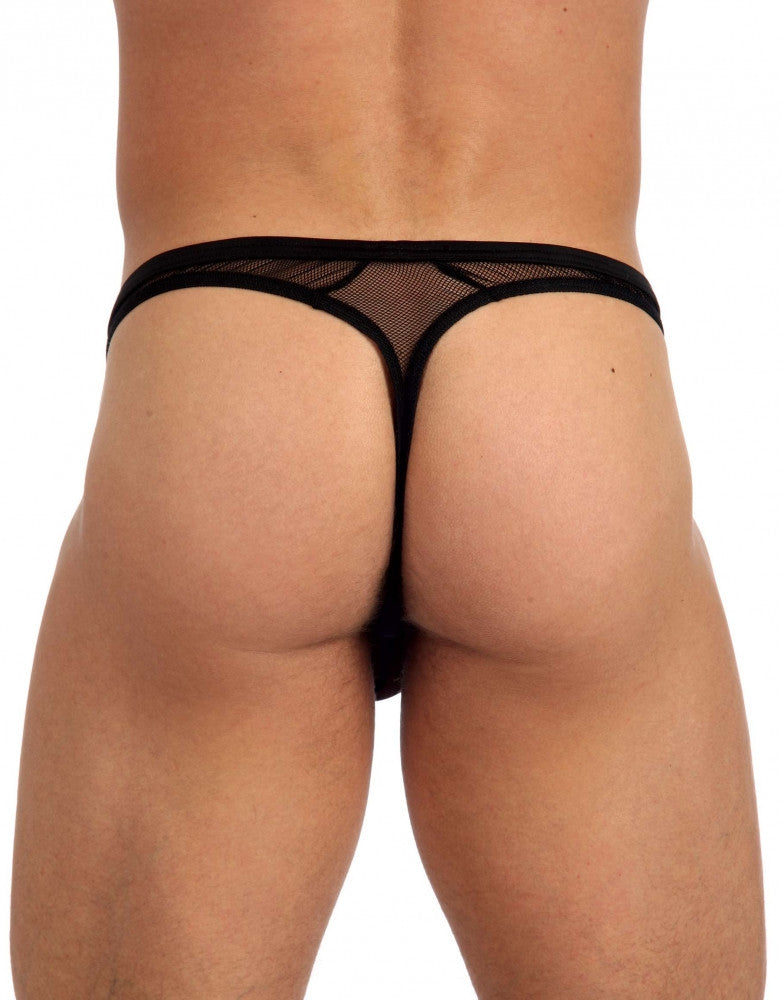 Black Back Gregg Homme X-Rated Maximizer Thong