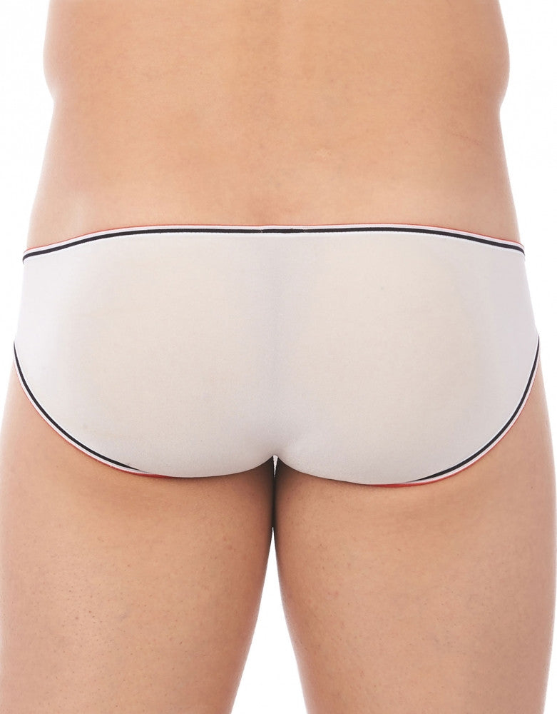 White Back Gregg Homme Touch Stretch Sheer Brief