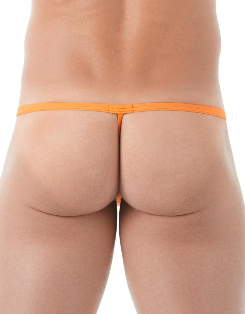 Orange Back Gregg Homme Drive Italian Mesh G-String