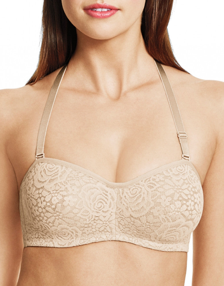 Naturally Nude Other Wacoal Halo Lace Strapless Underwire Bra