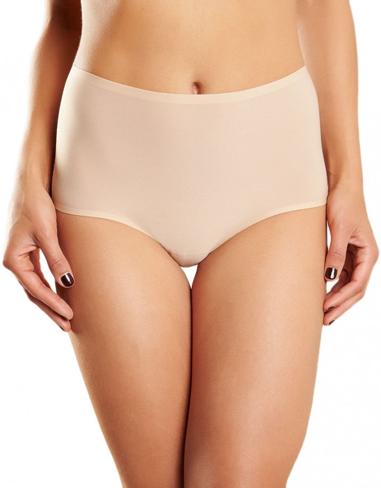 Ultra Nude Front Chantelle Seamless High-Rise Soft Stretch Brief