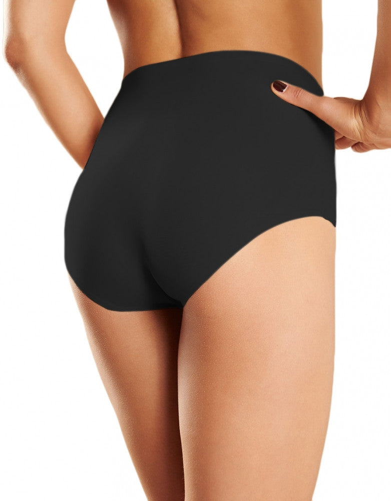 Black Back Chantelle Seamless High-Rise Soft Stretch Brief