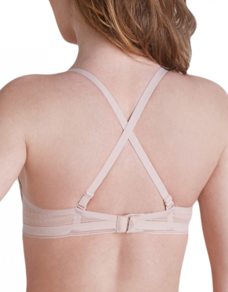 Peau Rose Back Simone Perele Muse Triangle Plunge Bra