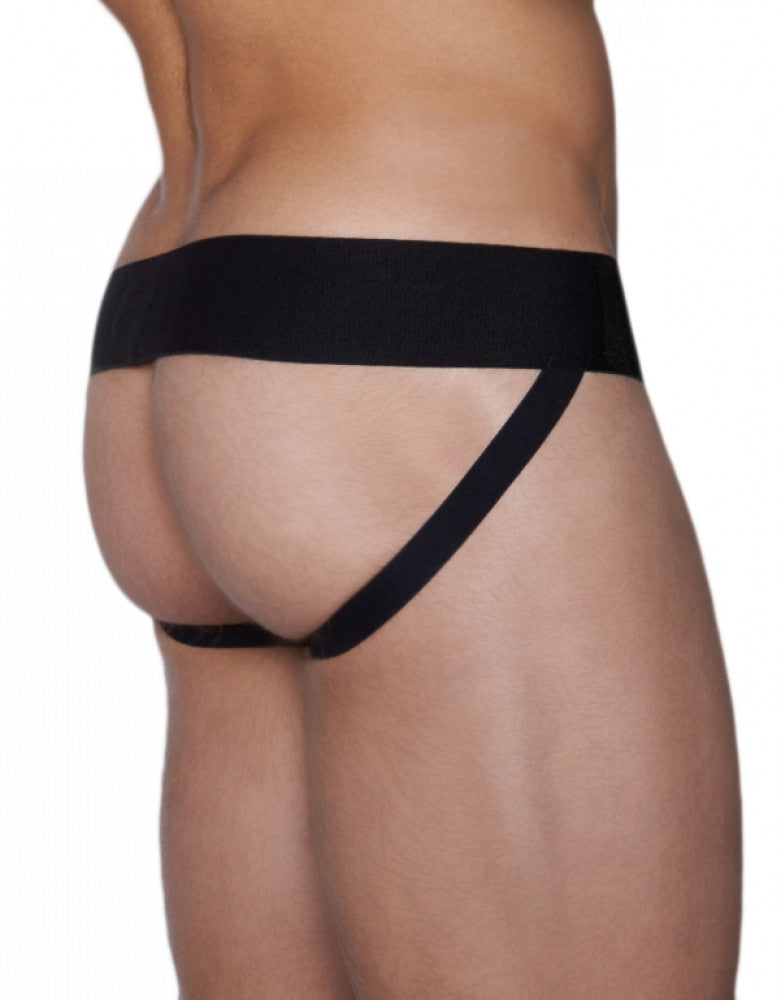Black Back C-IN2 Core Jockstrap