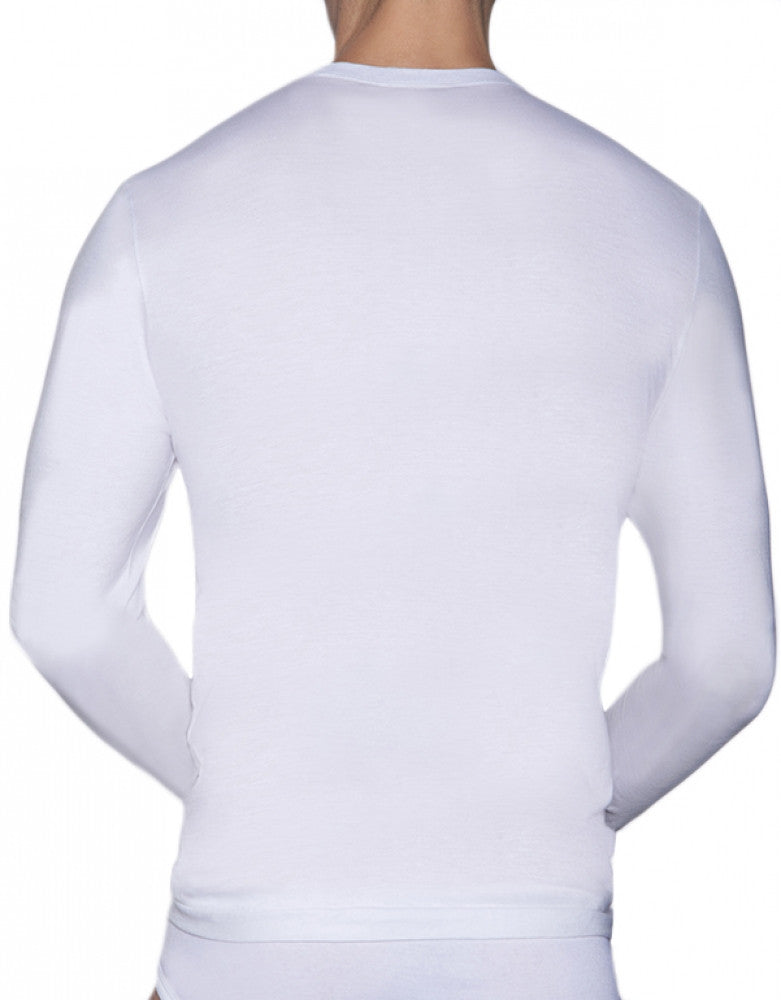 White Back C-IN2 Core Long Sleeve T-Shirt