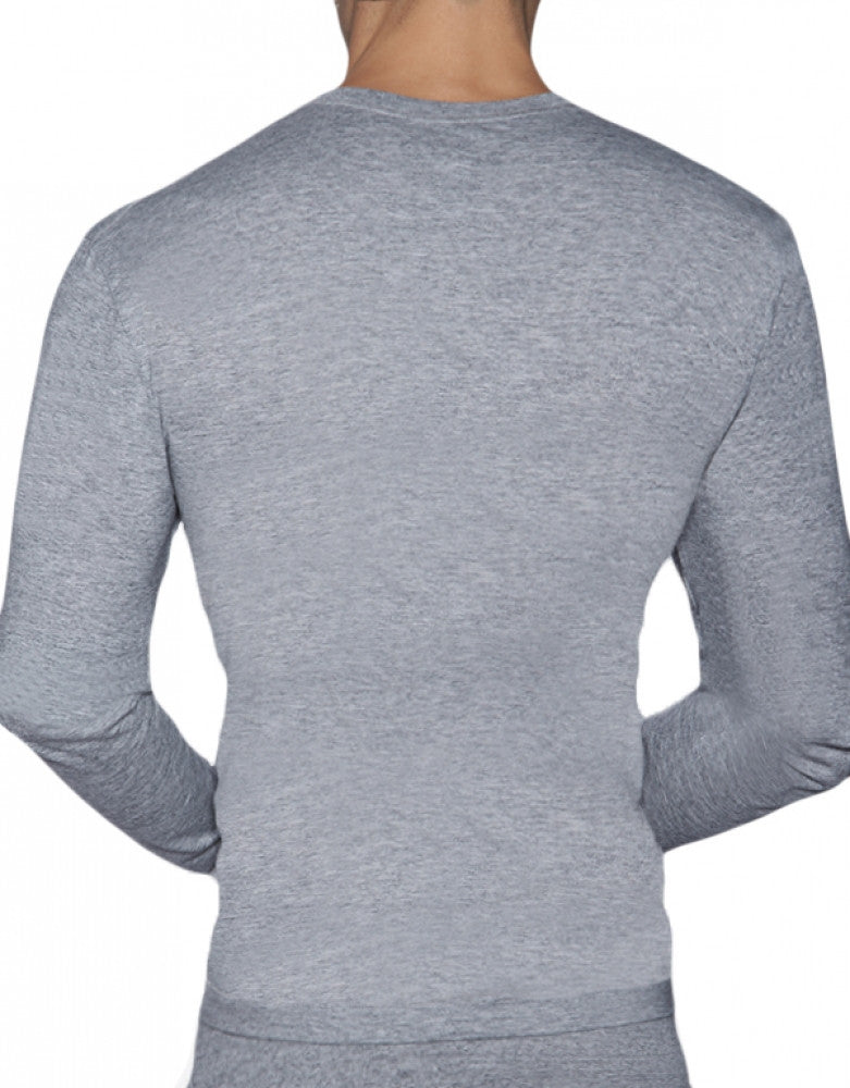 Grey Heather Back C-IN2 Core Long Sleeve T-Shirt